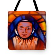 Stained Glass Beauty #66 Tote Bag