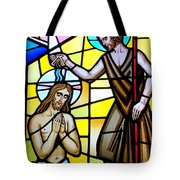 Stained Glass Beauty #9 Tote Bag