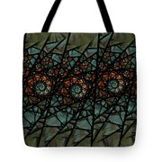 Stained Glass Floral I Tote Bag