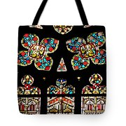 Stained Glass Glory Tote Bag