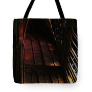 Stained Glass Impression Notre Dame Paris Tote Bag