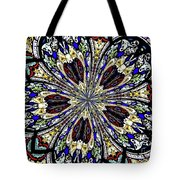 Stained Glass Kaleidoscope 38 Tote Bag