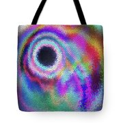 Stained Glass Morph #107 Tote Bag
