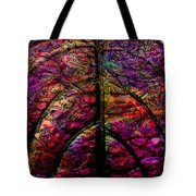 Stained Glass Not Tote Bag