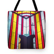 Stained Glass Reminder Tote Bag