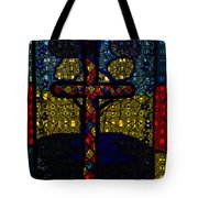 Stained Glass Reworked Tote Bag
