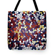 Vector Stained Glass Tote Bag