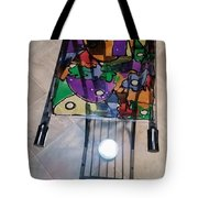 Stained Glass Sofa Table Tote Bag