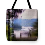 Stained Glass View Tote Bag