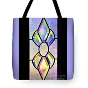 Stained Glass Watercolor Tote Bag