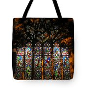 Stained Glass Window Christ Church Cathedral 1 Tote Bag