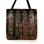 Stained Glass Window Christ Church Cathedral 2 Tote Bag