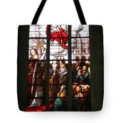 Stained Glass Window Vi Tote Bag