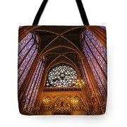 Windows Of Saint Chapelle Tote Bag