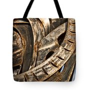 Stainless Abstract Tote Bag