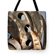 Stainless Abstract II Tote Bag