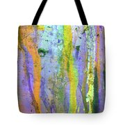 Stains Of Paint Tote Bag