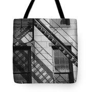 Stair Shadows Tote Bag