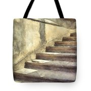 Staircase At Pitti Palace Florence Pencil Tote Bag