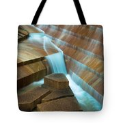 Staircase Fountain Tote Bag