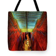 Staircase Into Hell Tote Bag