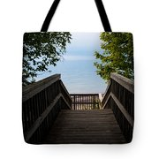 Staircase Of Tranquility Tote Bag