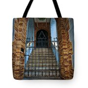 Stairs Beyond Tote Bag