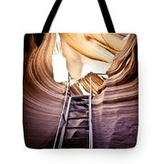 Stairs From Chaos Tote Bag