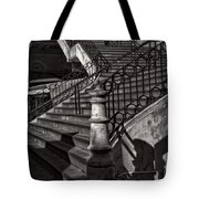 Stairs In The Markethall  Tote Bag