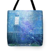 Stairs To Blue Tote Bag