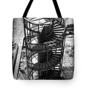Stairs To Nowhere In Pismo Beach Tote Bag by Priya Ghose