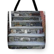 Stairs To The Plague House Tote Bag