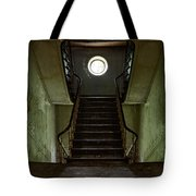 Stairs Toward The Attic - Abandoned House Tote Bag