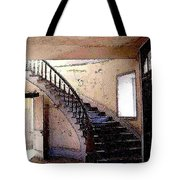 Stairway -  Meade Hotel - Bannack Mt Tote Bag