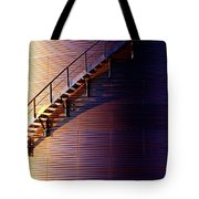 Stairway Abstraction Tote Bag
