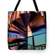 Stairway Bright Tote Bag