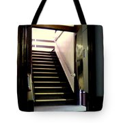 Stairway In A Mirror Tote Bag