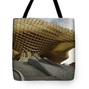 Stairway Leading Up To Metropol Parasol In The Plaza Of The Inca Tote Bag