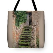 Stairway Less Traveled Tote Bag