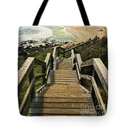 Stairway To Beach Tote Bag
