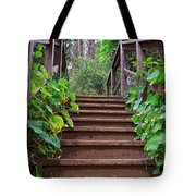 Stairway To Beauty Tote Bag