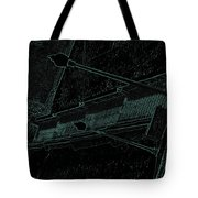 Stairway To-blue Tote Bag