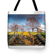 Stairway To Federal Hill Tote Bag