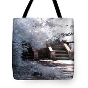 Stairway To Heaven Tote Bag by Helga Novelli