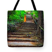 Stairway To Heaven Impasto Tote Bag