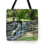 Stairway To Water Tote Bag