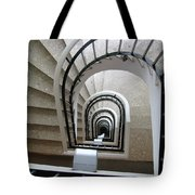 Stairwell In Presidente Hotel  Tote Bag