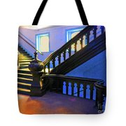 Stairwell Of Color Tote Bag