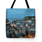 Staithes Evening Tote Bag