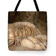 Stalactite Formation In Karst Cave Tote Bag
